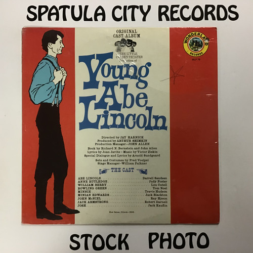 Young Abe Lincoln - Soundtrack - vinyl record LP