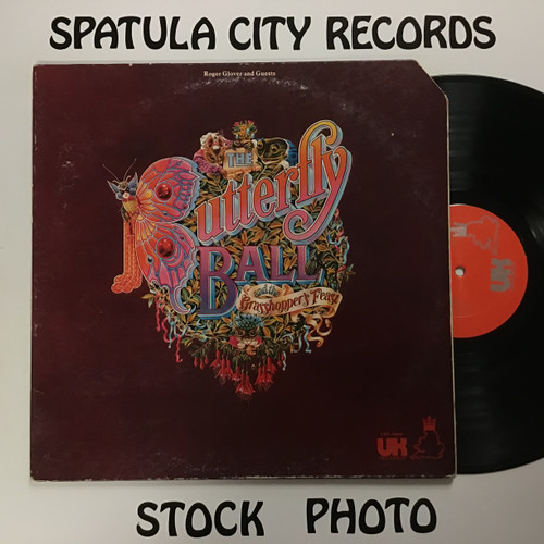 Roger Glover and Guests - The Butterfly Ball and The Grasshopper's Feast - vinyl record LP