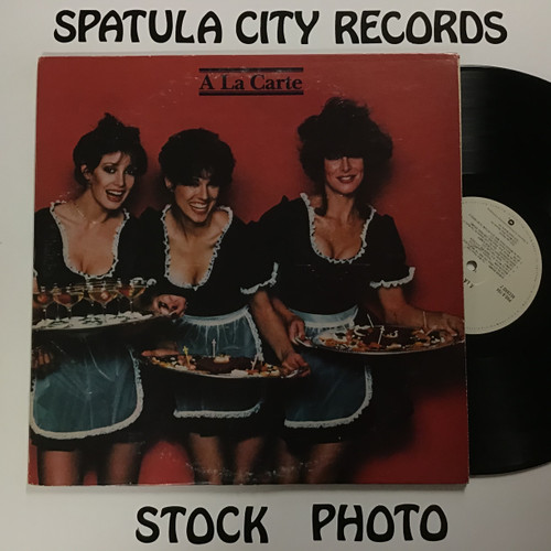 A La Carte - Compilation - PROMO - double vinyl record LP