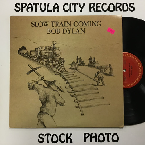 Bob Dylan - Slow Train Coming - vinyl record LP