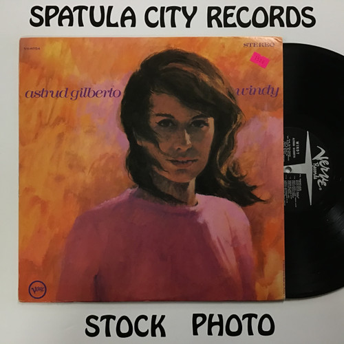 Astrud Gilberto - Windy - vinyl record LP