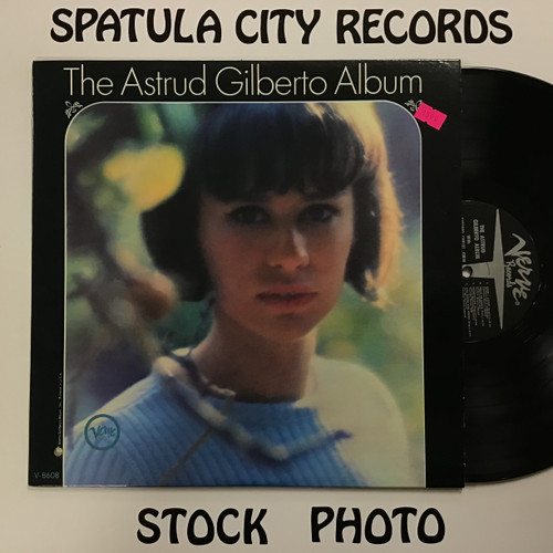 Astrud Gilberto - The Astrud Gilberto Album - MONO - vinyl record LP