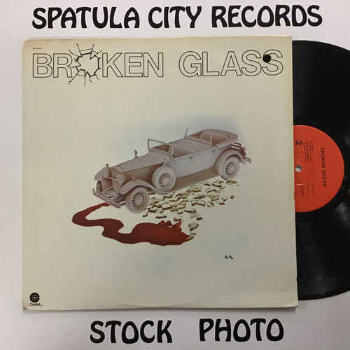 Broken Glass - Broken Glass - vinyl record LP