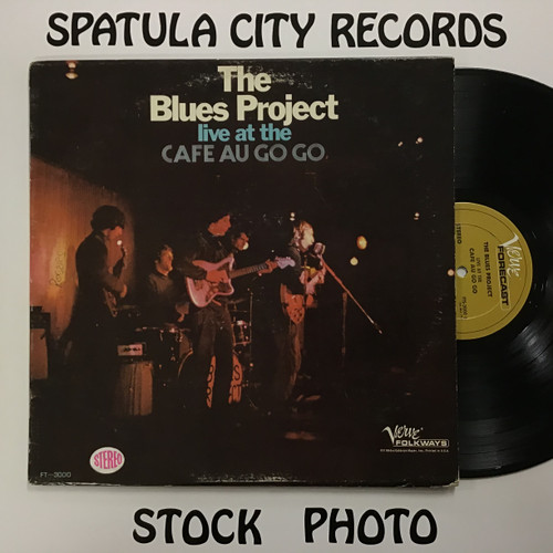 Blues Project, The - Live at the Cafe Au Go Go - vinyl record LP