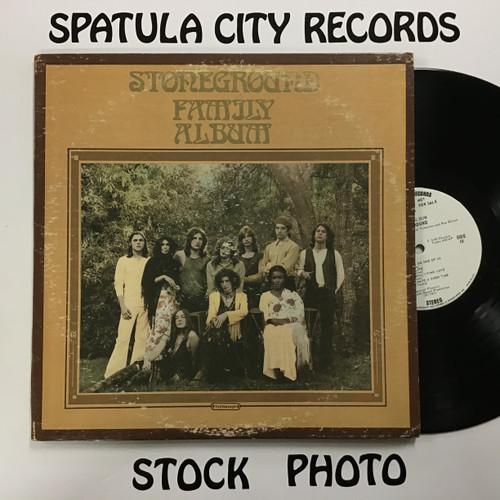 Stoneground - Family Album - PROMO - double vinyl record LP