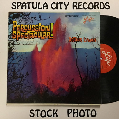Arthur Lyman - Percussion Spectacular - vinyl record LP