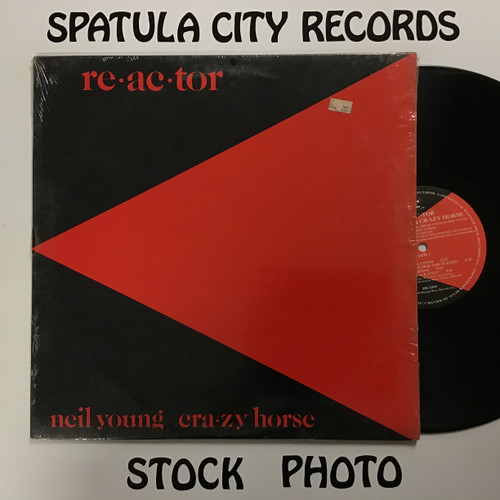 Neil Young and Crazy Horse - Reactor - vinyl record LP