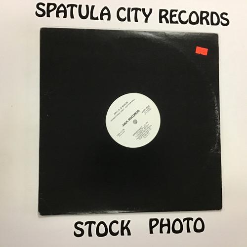 "Eric B. and Rakim - Mahogany - PROMO - 12"" vinyl record LP"