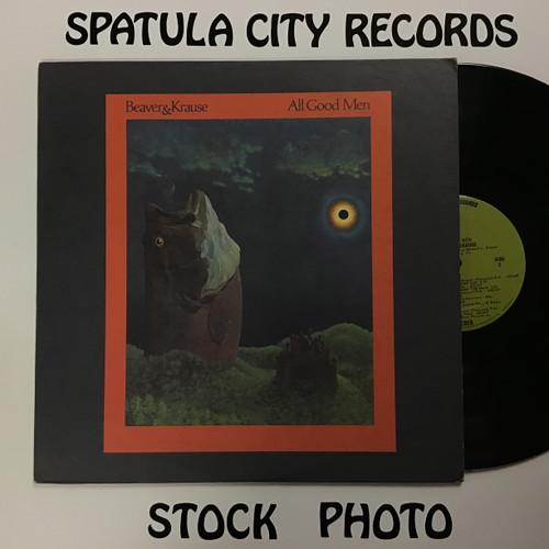 Beaver and Krause - All Good Men - vinyl record LP