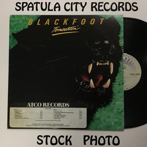 Blackfoot - Tomcattin - PROMO -  vinyl record LP