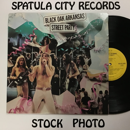 Black Oak Arkansas - Street Party - vinyl record LP