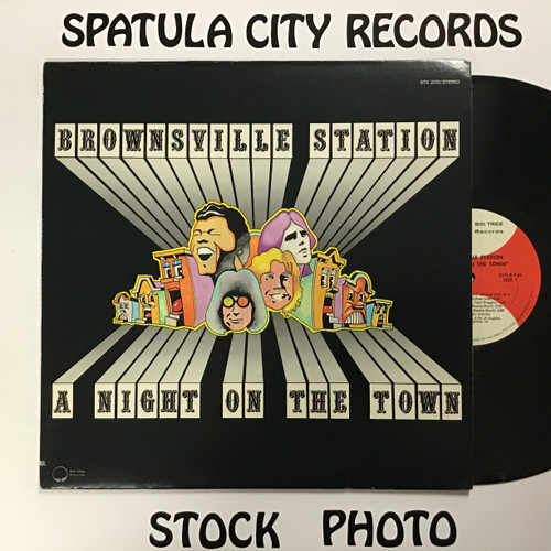 Brownsville Station - A Night on the Town - vinyl record LP