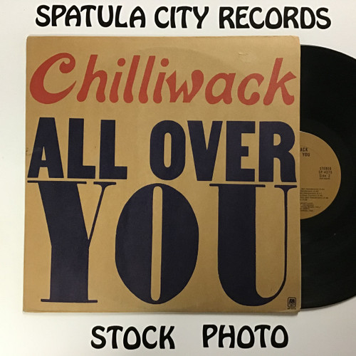 Chilliwack - All Over You - vinyl record LP