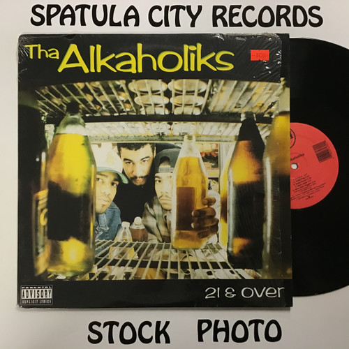 Alkaholiks, The - 21 and Over - vinyl record LP