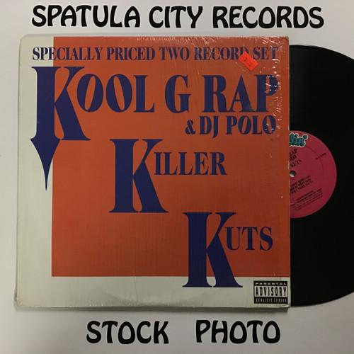 Kool G Rap and DJ Polo - Killer Kuts - double vinyl record LP