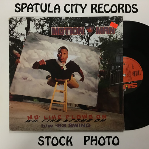 Motion Man - Mo Like Flows On - PROMO - vinyl record LP