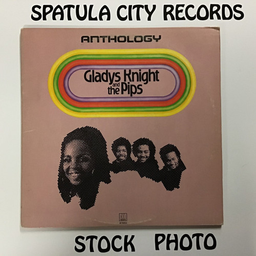 Gladys Knight and the Pips - Anthology - double vinyl record LP
