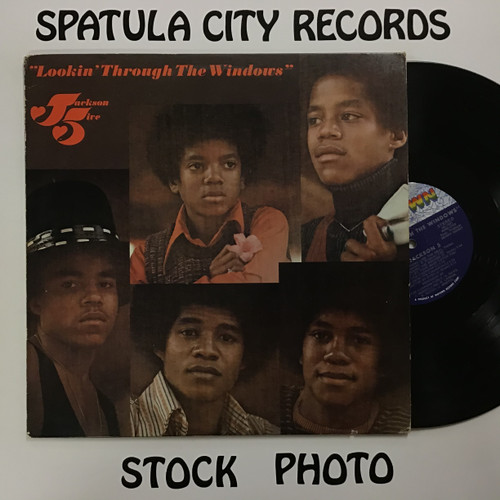 Jackson 5 - Lookin Through the Windows - vinyl record LP