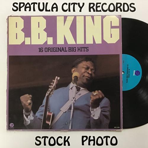 B.B. King - 16 Original Big Hits - vinyl record LP