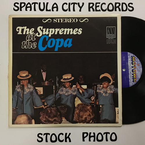 Supremes, The - Supremes at the Copa - vinyl record LP