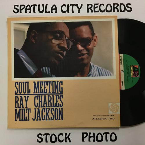 Ray Charles and Milt Jackson - Soul Meeting - vinyl record LP