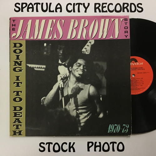 James Brown - The James Brown Story Doing It to Death 1970-1973 - vinyl record LP