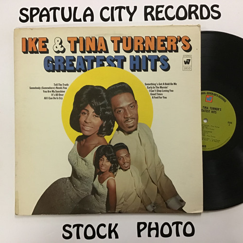 Ike and Tina Turner - Ike and Tina Turner's Greatest Hits - vinyl record LP