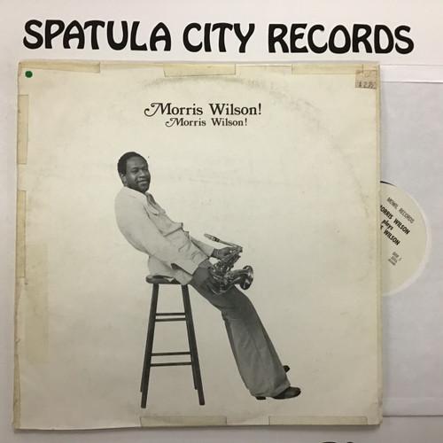 Morris Wilson - Morris Wilson! - vinyl record LP