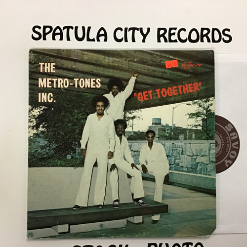 Metro-Tones, the - Get Together - vinyl record LP