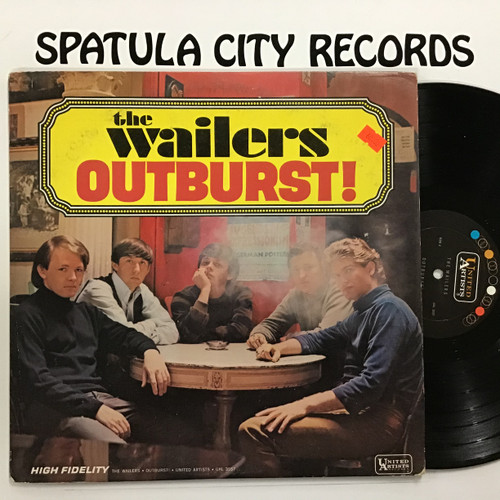 Wailers, the - Outburst! - MONO -  vinyl record LP