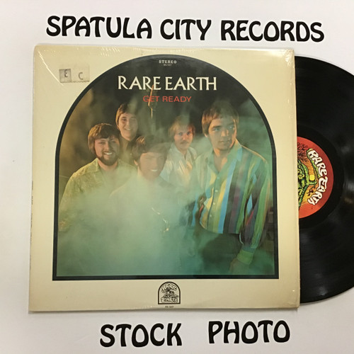 Rare Earth - Get Ready - vinyl record LP