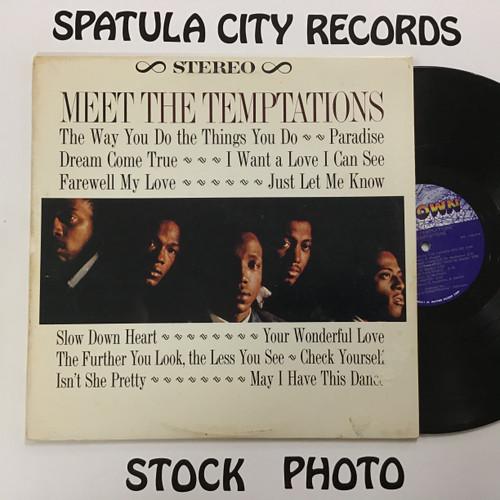 Temptations, The - Meet the Temptations - vinyl record LP