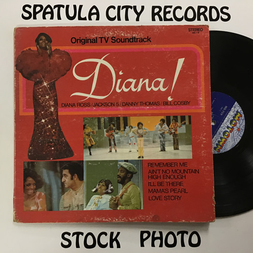 Diana - Original TV Soundtrack - vinyl record LP