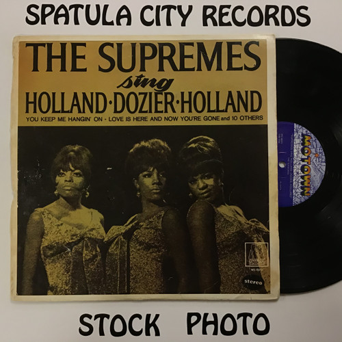 Supremes, The - Supremes Sings Holland Dozier Holland - vinyl record LP