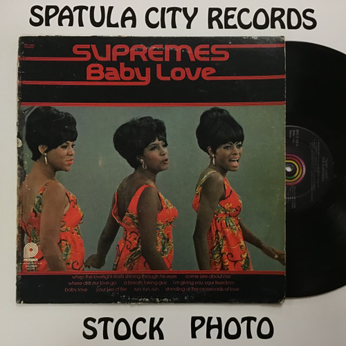 Supremes, The Baby Love - vinyl record LP