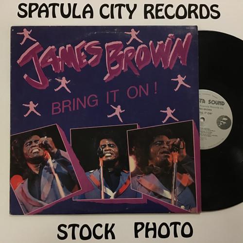 James Brown - Bring It On - vinyl record LP