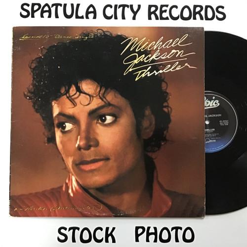 "Michael Jackson - Thriller - 12"" single - vinyl record LP"