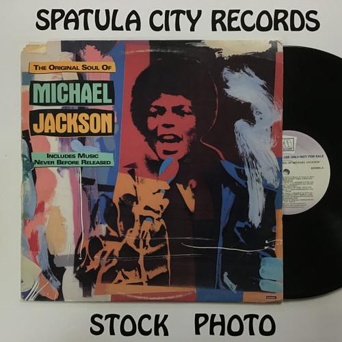 Michael Jackson - The Original Soul of Michael Jackson - PROMO - vinyl record LP