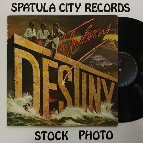 Jacksons, The - Destiny - vinyl record LP