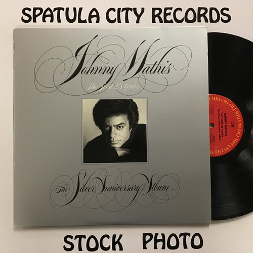 Johnny Mathis – The First 25 Years The Silver Anniversary Album - Double vinyl record album LP
