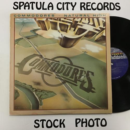 Commodores - Natural High - vinyl record album LP