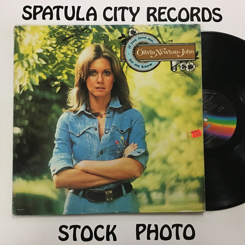 Olivia Newton John - If you love me, let me know - vinyl record album LP