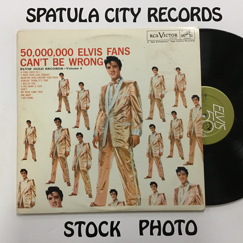 Elvis Presley - 50,000,000 Elvis fans Can't be wrong - vinyl record album LP
