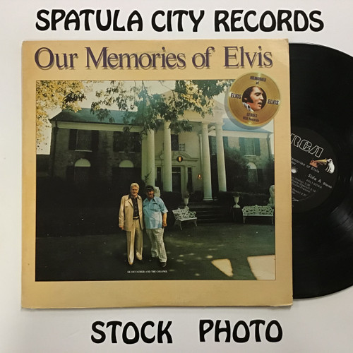 Elvis Presley - Our Memories of Elvis - vinyl record album LP