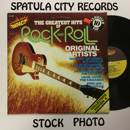Greatest Hits of Rock and Roll, The - compilation - IMPORT - vinyl record LP