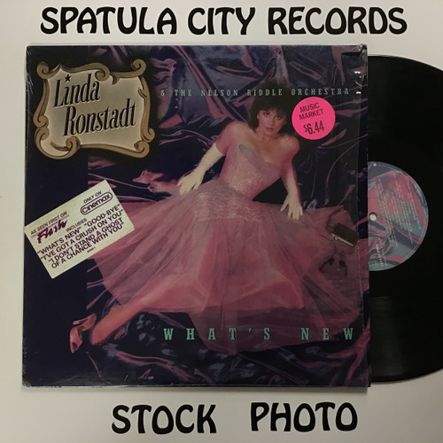 Linda Ronstadt and the Nelson Riddle Orchestra - What's New - vinyl record album LP
