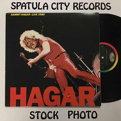 Sammy Hagar - Live 1980 - vinyl record LP