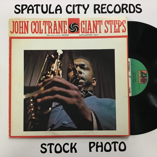John Coltrane - Giant Steps - vinyl record LP