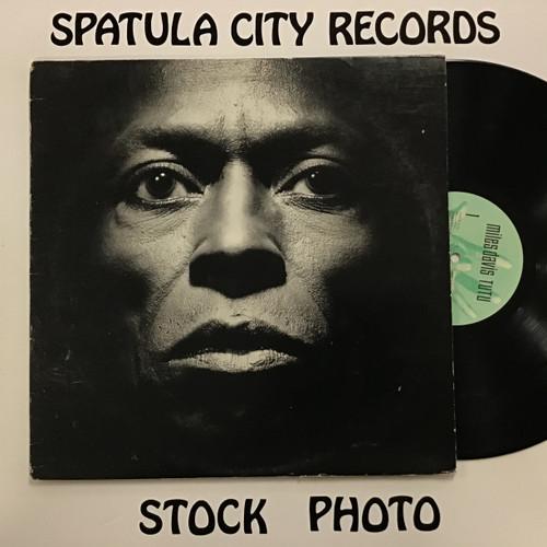 Miles Davis - Tutu - vinyl record LP
