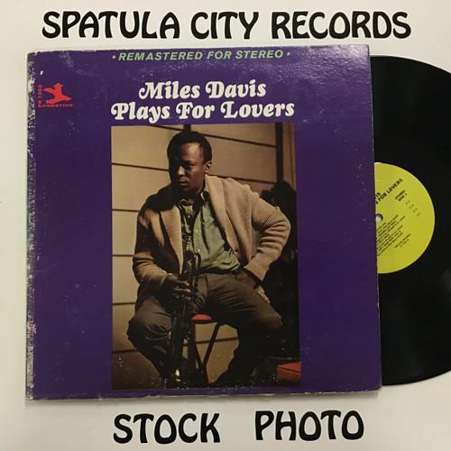 Miles Davis - Plays for Lovers - vinyl record LP